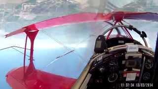 getlinkyoutube.com-81 Turn Guinness World Record Inverted Flat Spin - Helmet Cam