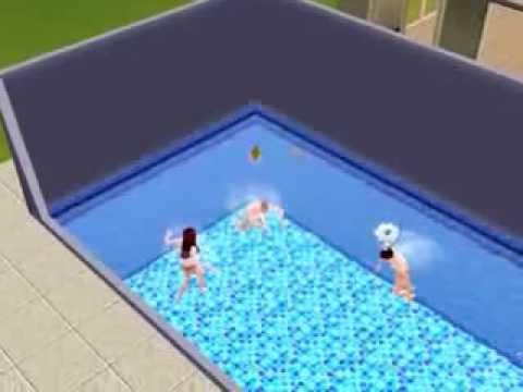 Sim se afogando - The Sims 3