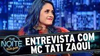 getlinkyoutube.com-The Noite (29/07/15) - Entrevista com MC Tati Zaqui