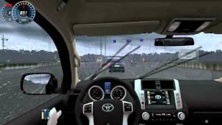 getlinkyoutube.com-City Car Driving - Toyota Land Cruiser Prado + (Download link!)