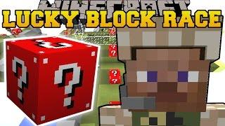 getlinkyoutube.com-Minecraft: HARDCORE WAR LUCKY BLOCK RACE - Lucky Block Mod - Modded Mini-Game