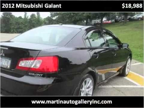 2012 Mitsubishi Galant Used Cars Pittsburg PA