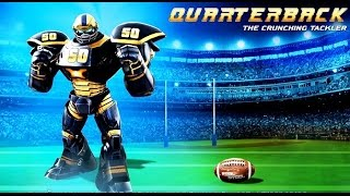 getlinkyoutube.com-Real Steel FINAL QUARTERBACK Series of fights NEW ROBOT (Живая Сталь)