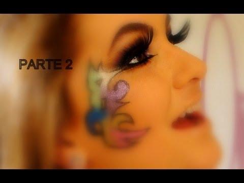Maquiagem para o carnaval 2012 por Alice Salazar - Parte 2
