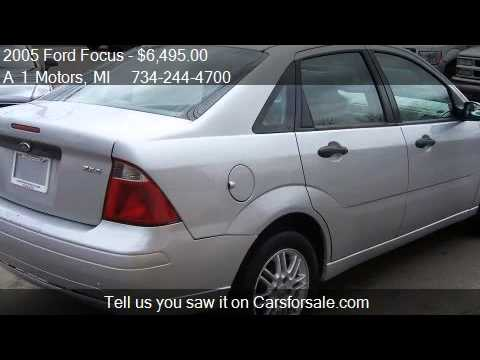 2005 Ford Focus ZX4 SE - for sale in Monroe, MI 48162