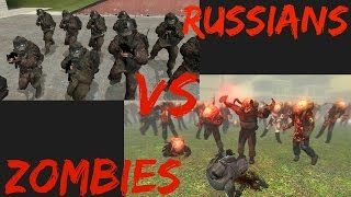 getlinkyoutube.com-Garry's Mod NPC Wars: MW2 Russians Vs Zombies