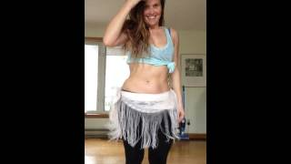 Shimmabulous Belly Dance Drum Solo improvisation by Cassandra Fox