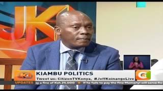 Jeff Koinange Live | Kabogo: I am not arrogant, I am firm. I stand for what I believe in