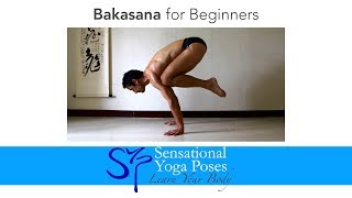 getlinkyoutube.com-Bakasana for Beginners, Crow Pose Yoga Arm Balance