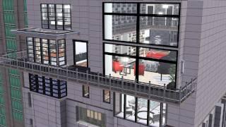 getlinkyoutube.com-The Sims 3: Modern Loft