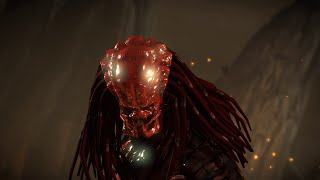 getlinkyoutube.com-Mortal Kombat X PC Mod - Infected Predator Intro Gameplay Fatality Brutality X-Ray Victory