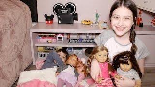 Especial Férias #3 - Festa do Pijama com as bonecas - Julia Silva