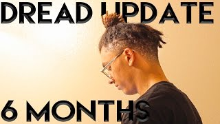 getlinkyoutube.com-Dreadlock Update: 6 Months (High Top Fade)
