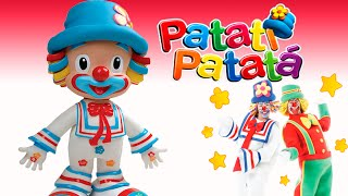 getlinkyoutube.com-Patati Patatá - Boneco Interativo Palhaço Patati Candide