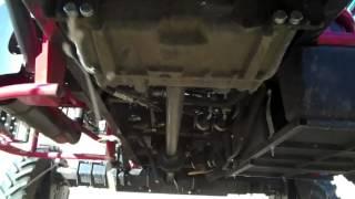 Apache Sprayer: Mechanical Drive Power