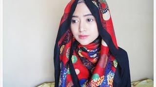 getlinkyoutube.com-#63 Hijab Tutorial - Natasha Farani (2 Cara Memakai Jilbab Paris SegiEmpat)