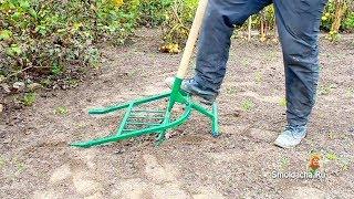 getlinkyoutube.com-Проверка чудо лопаты на твердой почве