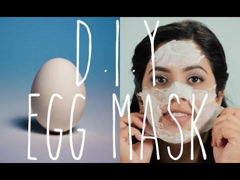 QUICK DIY: Egg Facial Mask, Acne & Black Head Removal