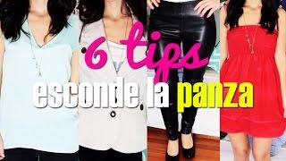 getlinkyoutube.com-Como disimular la panza - Esconder la barriga - 6 Tips - How to look thinner por Lau