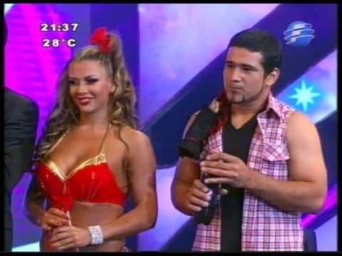 Eric Rodriguez y Marly Figueredo. Presentación Ritmo Cumbia. BCPY2013