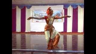 getlinkyoutube.com-Chandana(Rakshana). chittimalla kuchipudi dance performance