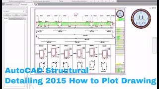 getlinkyoutube.com-AutoCAD Structural Detailing 2015-How to Plot Plan