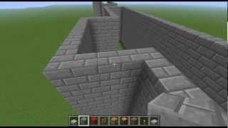 getlinkyoutube.com-Guia para hacer un castillo en Minecraft   1ª parte