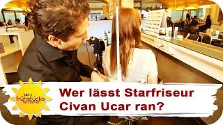 getlinkyoutube.com-Lange Haare radikal abschneiden | Sat.1 Frühstücksfernsehen