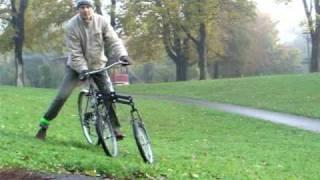 Tilting tricycle bicycle leaning trike