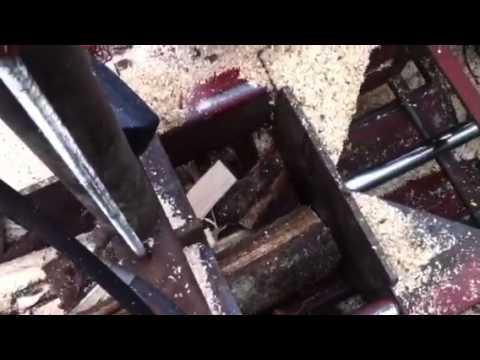 Homemade firewood processor / hjemmelaget vedmaskin for langved