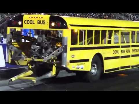Onibus dragster escolar turbo