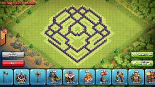 getlinkyoutube.com-Clash of Clans- Town hall 8 defense base (The Shield)