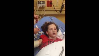 getlinkyoutube.com-Coming out of anesthesia after broken arm.