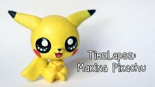 getlinkyoutube.com-Timelapse: Sculpting and painting Pikachu (LPS custom)
