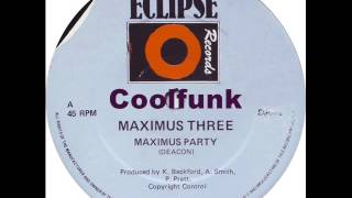 "Maximus Three - Maximus Party (12"" Old School Rap 1981)"
