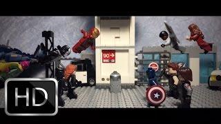 getlinkyoutube.com-Lego Captain America Civil War Trailer 2 recreation shot for shot