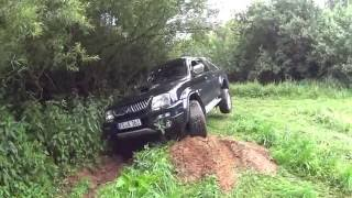 getlinkyoutube.com-Mitsubishi l200 offroad without lockers/ Brunnen fail