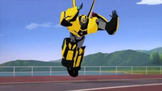 getlinkyoutube.com-Transformers Robots in Disguise Autobots vs Filch (Round 2)