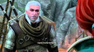 getlinkyoutube.com-The Witcher 3: Geralt Asks Yennefer, Triss, & Ciri About His Scar (Hearts of Stone)