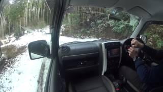 getlinkyoutube.com-ジムニーシエラ ノーマルタイヤで雪道を行く