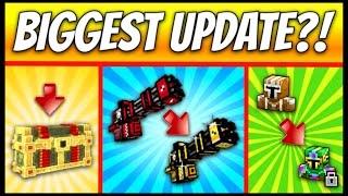 getlinkyoutube.com-BIGGEST UPDATE EVER?! | Pixel Gun 3D - New Update 11.0.0 [Review]
