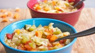getlinkyoutube.com-10 lbs in 1 week Cabbage Soup Diet Recipe AKA Wonder Soup