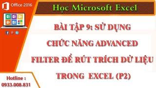 getlinkyoutube.com-Sử dụng chức năng Advanced Filter để rút trích dử liệu trong bảng tính Excel (P2)