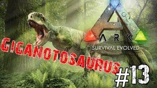 getlinkyoutube.com-ARK Survival Evolved : ยังไม่เห็นแม้แต่เงา Giganotosaurus Part#13