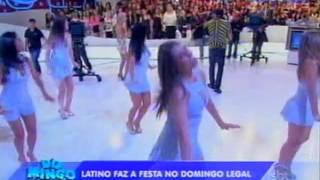 getlinkyoutube.com-Domingo Legal - Latino faz um show no palco do Domingo Legal