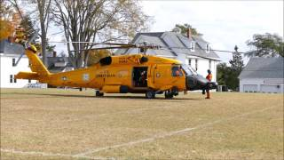 getlinkyoutube.com-USCG MH-60T Jayhawk helicopter start-up and take-off