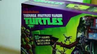 getlinkyoutube.com-Brinquedo das Tartarugas Ninjas- Parte 2- PlaySet