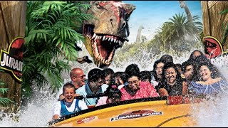 getlinkyoutube.com-Welcome to Jurassic Park - Complete Ride at Universal Studios Hollywood