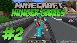 getlinkyoutube.com-Minecraft Hunger Games - SILENT BUT DEADLY!!! | KID GAMING