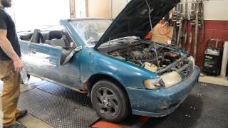 The Car that Will Not Die - Nitrous Nissan Sentra